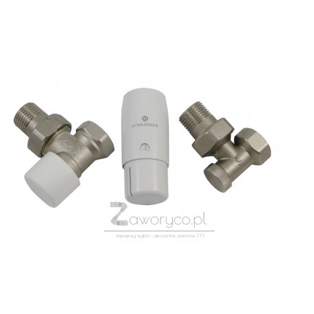 Zestaw termostatyczny kątowy Standard Mini (6022 00039) GW.wewnętrzny
