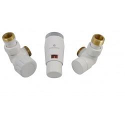 Zestaw 3-osiowy termostatyczny Elegant Mini (6034 00045) biały