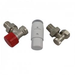 Zestaw termostatyczny kątowy Standard Mini