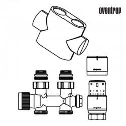 Zestaw Multiblock T prosty (Oventrop)