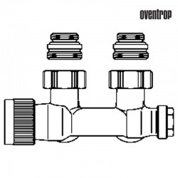 Multiblock T kątowy (Oventrop)