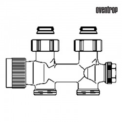 Multiblock T prosty (Oventrop)